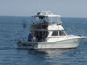 The best fishing charter boats on the Great Lakes.