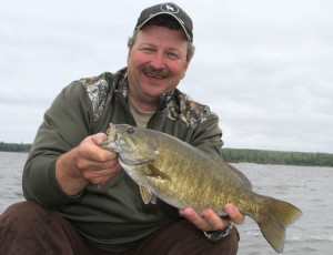 When you're walleye fishing on Green Bay and they aren't biting -- the smallies probably are!